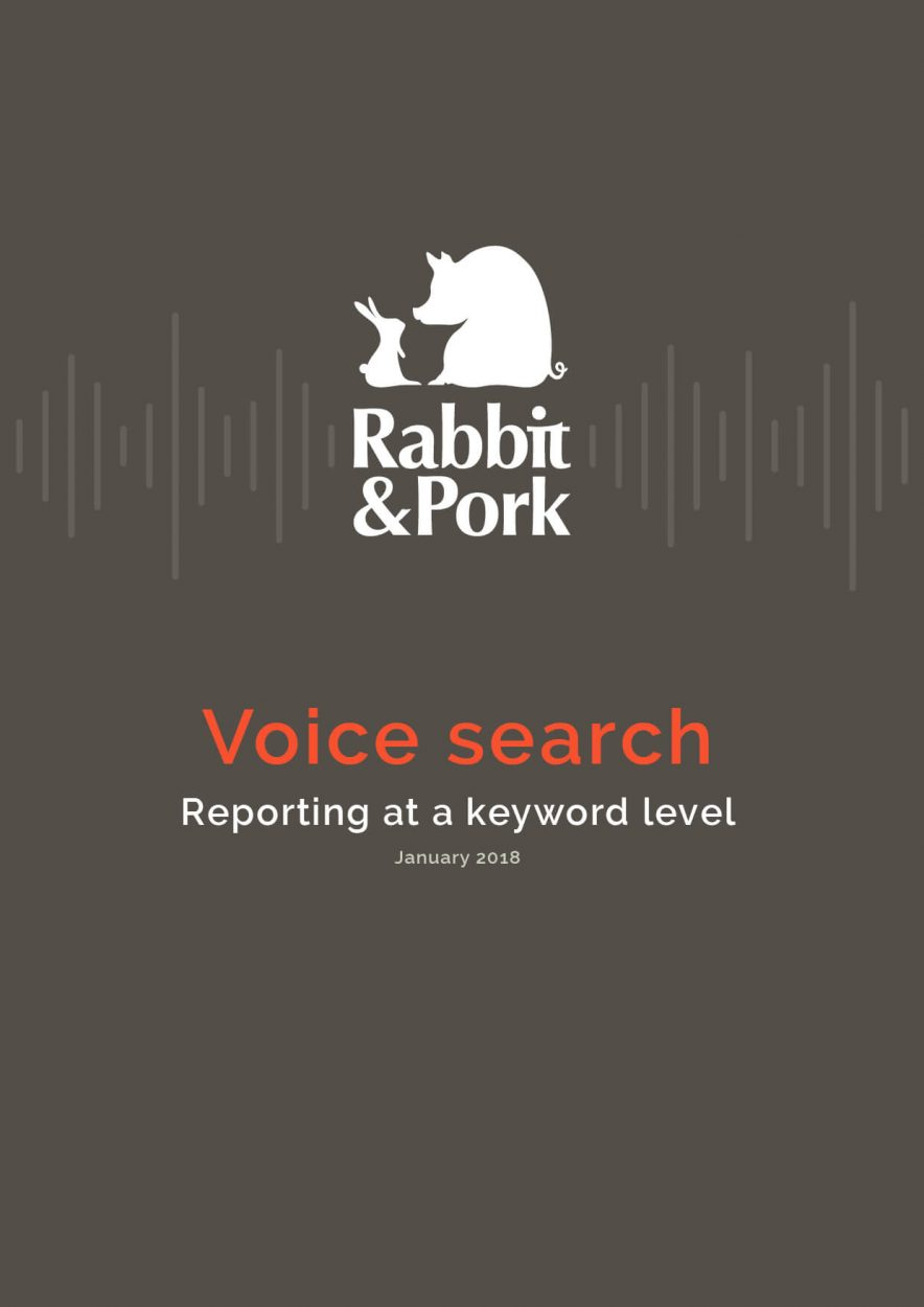 Voice Search Ranking Report – January 2018